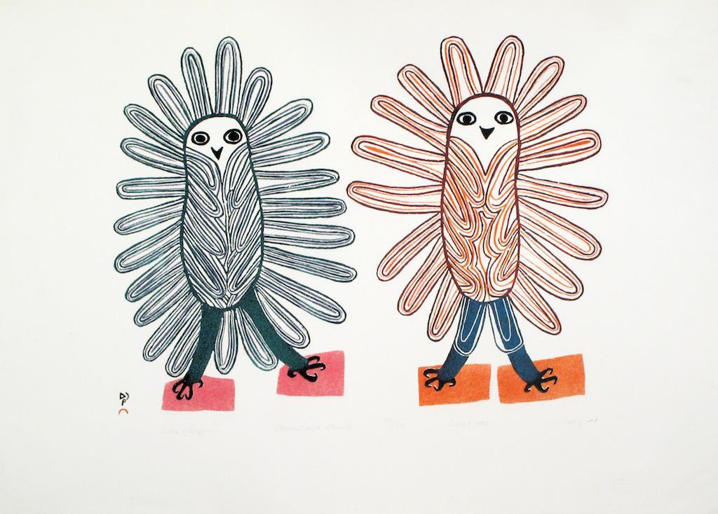 Inuit Art Drawings